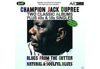 Champion Jack Dupree - Blues From the Gutter / Natural & Soulful Blues - (CD)