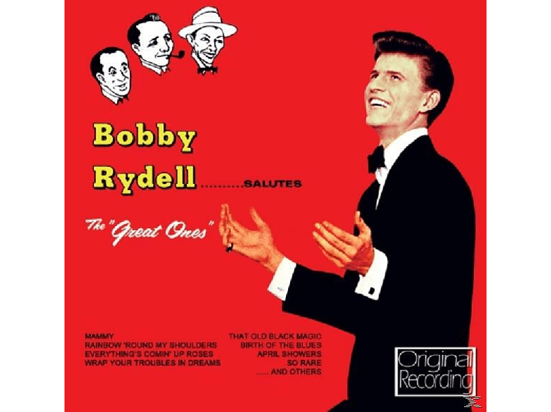 Bobby Rydell - Salutes The Great Ones [CD]