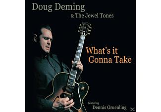Doug -& The Jewel Tones- Deming - What's It Gonna Take - (CD)