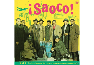 VARIOUS - Saoco! Vol.2 Bomba,Plena And The - (Vinyl)