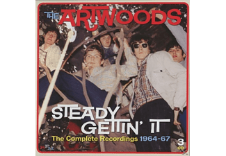 The Artwoods - Steady Gettin' It-Complete Recordings 1964-67/3CD - (CD)
