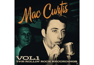 Mac Curtis - The Rollin Rock Recordings Vol.1 - (CD)