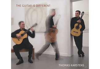 Thomas Karstens - The Guitar is Different - (CD)