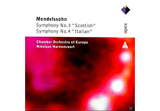 "Coe - Sinfonie 3""scottish"" & 4""italien"" - (CD)"