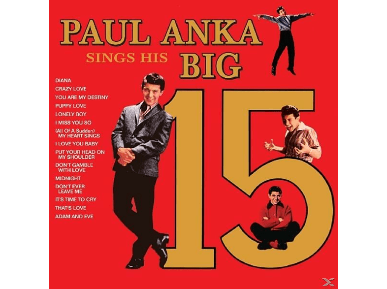 Paul Anka - Sings His Big 15 [CD]