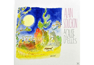 Alain Souchon - A Cause D Elles - (CD EXTRA/Enhanced)