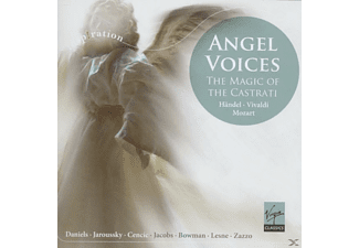 VARIOUS, Jaroussky, Cencic, Daniels - Angel Voices: The Magic Of The Castrati - (CD)