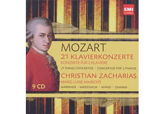 Marriner, Zinman, Zacharias Christian - 21 Klavierkonzerte [CD]