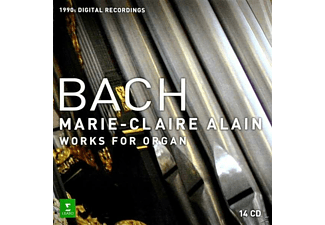 Marie Alain - Works For Organ - (CD)