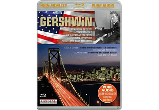 Ousset,Cecile/RSOS/Marriner/Marks,Alan/Baum - Gershwin-Best Of - (Blu-ray Audio)