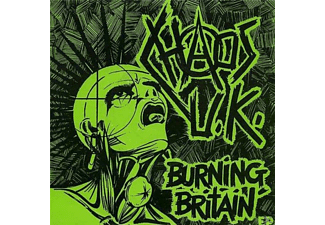 Chaos Uk - Burning Britain - (Vinyl)