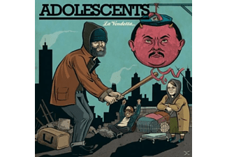 The Adolescents - La Vendetta (Limited Edition) - (LP + Download)