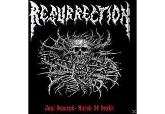 Ressurection - Soul Descent-March Of De - (CD)