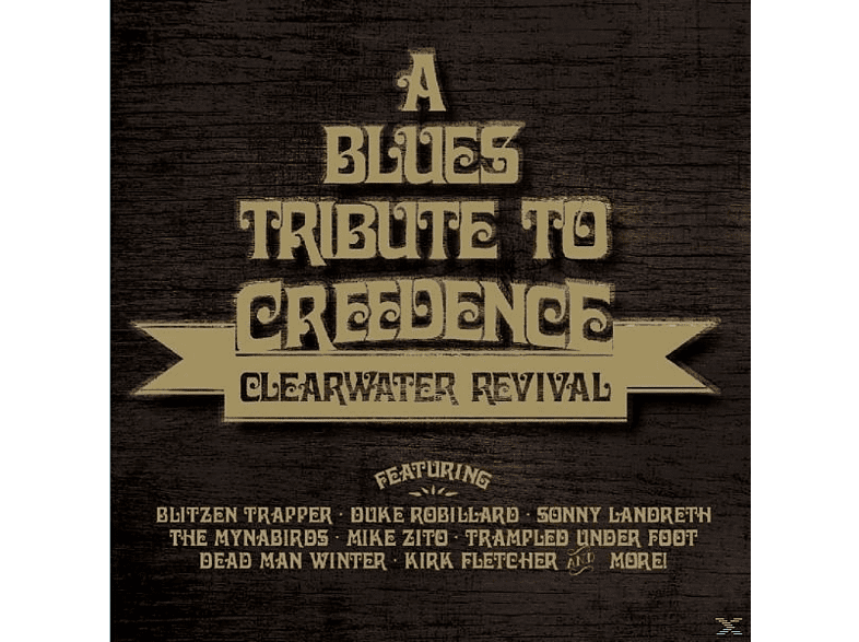 VARIOUS - Blues Tribute To Creedence Clearwater Revival [CD]