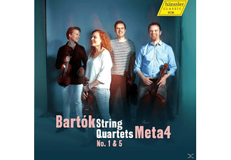 Meta4 - String Quartets 1 & 5 - (CD)