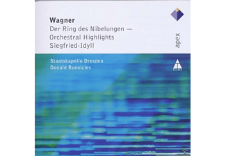 Donald Runnicles, Sd, Donald/sd Runnicles - Orch.Highlights Aus Ring Des Nibelungen/Siegfried - (CD)