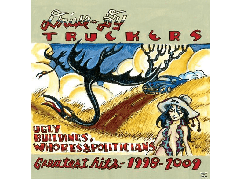 By Truckers, Drive-by Truckers - Ugly Buildings, Whores & Politicians [CD]