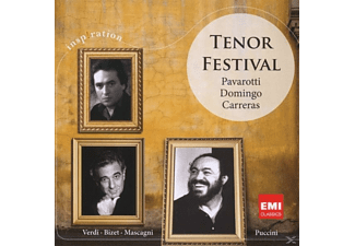 Plácido Domingo, Pavarotti, Domingo, Carreras - TENOR FESTIVAL - (CD)