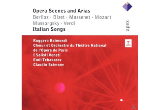Claudio Scimone, Raimondi Ruggero, Isv - Opera Scenes And Arias/Italian Songs - (CD)