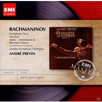 André Previn, Andre/lso Previn - Sinfonie 2/Vocalise [CD]