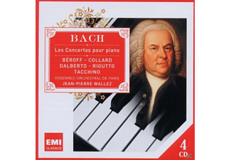 VARIOUS, Bruno Rigutto, Esemble Orchestral De Paris - Bach: Les Concertos Pour Piano - (CD)