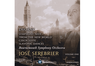 Jose & Boso Serebrier - Dvorak: Symphony No. 9, 'from The New World' - (CD)