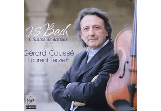 Causse Gerard, Laurent Terzieff - 6 Suites De Danses - (CD)
