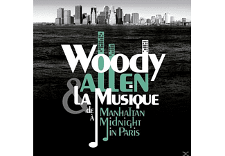 Woody & La Musique Allen - De Manhattan A Midnight In Paris - (CD)