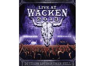 VARIOUS - Live At Wacken 2013 - (Blu-ray)