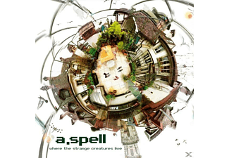 A.Spell - Where The Strange Creatures Live - (CD)
