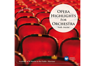 NEVILLE/ACADEMY OF ST.MARTIN IN THE FIELD Marriner - Opera Highlights For Orchestra - (CD)