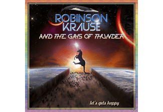 Robinson Krause & The Gays Of Thunder - Let's Gets Happy (+Hörbuch) - (Vinyl)