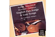 Pro Cantione Antiqua - English Part Songs & Lute Songs [CD]