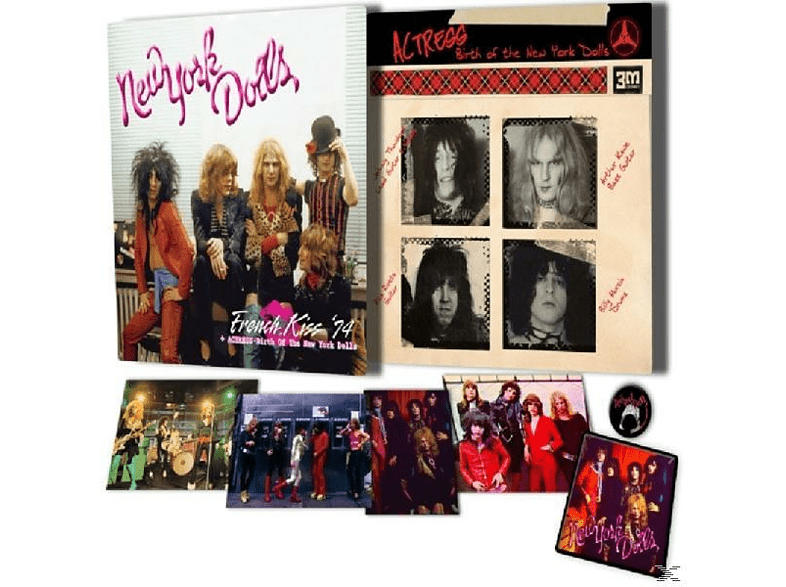 New York Dolls - French Kiss '74/Actress-Birth Of The New York Do [CD]