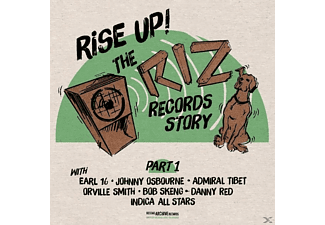 VARIOUS - Rise Up-The Riz Records Story Part 1 - (Vinyl)