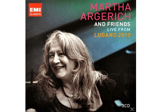 Martha & Friends Argerich, Martha & Various Argerich - Live From Lugano 2010 - (CD)