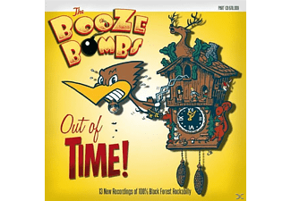 The Booze Bombs - Out Of Time! - (CD)