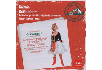 Mattes, Gedda, Rothenberger, Rothenberger/Gedda/Mattes - Gräfin Mariza - (CD)