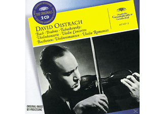 David Oistrach - Violinkonzerte - (CD)