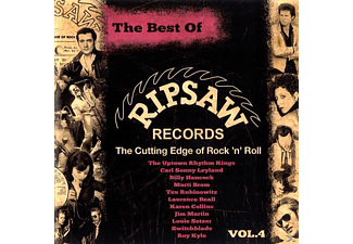 VARIOUS - The Best Of Ripsaw Records Vol.4 - (CD)