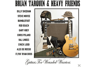 Brian & Heavy Friends Tarquin - Guitars For Wounded Warriors - (CD)