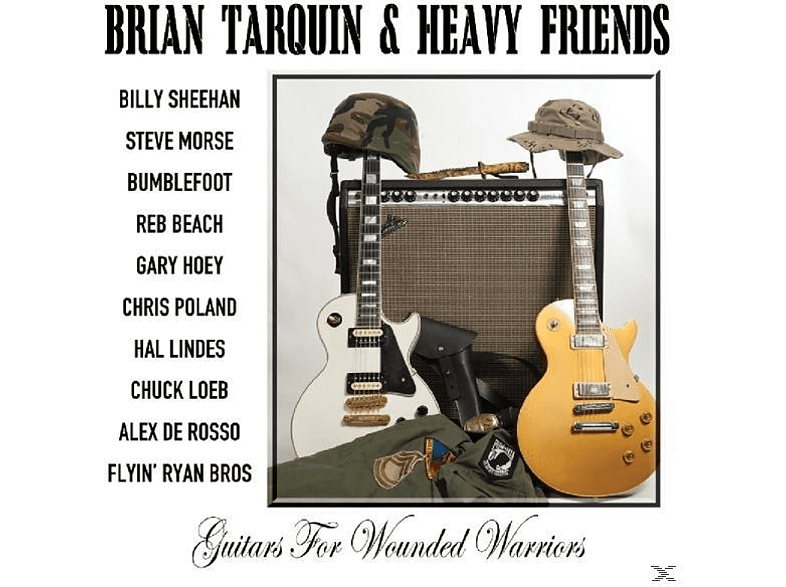 Brian & Heavy Friends Tarquin - Guitars For Wounded Warriors [CD]