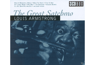 Louis Armstrong - The Great Satchmo - (CD)