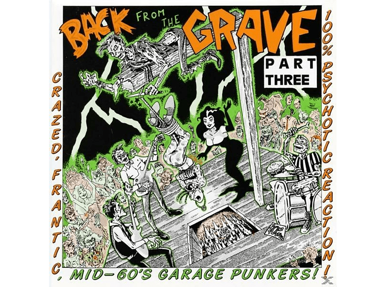 VARIOUS - Vol.3-Back From The Grave [Vinyl]