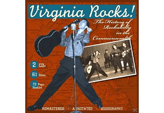 VARIOUS - Virginia Rocks! History Of Rockabil - (CD)