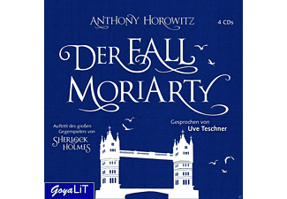 Der Fall Moriarty - 4 CD - Krimi/Thriller