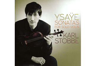 Karl Stobbe - Sonatas For Solo Violin - (CD)