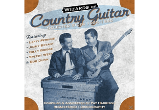 Perkins,Lefty/Bryant,Jimmy/Briggs,Billy/West,S - Country Guitar-Selected Sides 193 - (CD)