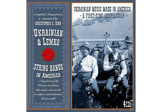 VARIOUS - Ukrainian & Lemko String Bands In A - (CD)