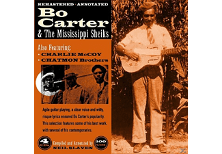 Carter,Bo Feat.Alexander,Texas & McCoy,Charlie - Bo Carter & The Mississippi Sheiks - (CD)